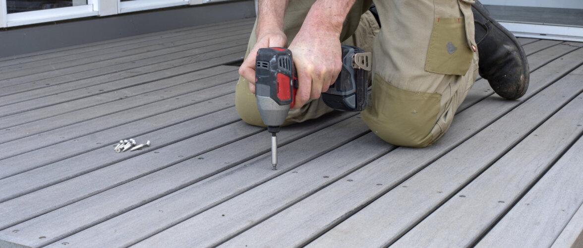 Puitplastikust terrassilauad – alternatiiv mugavale koduomanikule