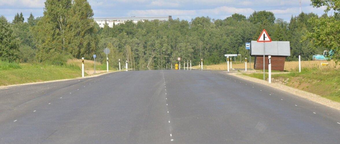 Viljandimaal asuv teelõik ei vasta Maanteeameti nõuetele