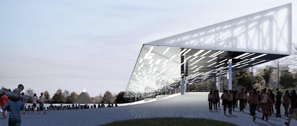 """Kalevi keskstaadioni arhitektuurikonkursi võitis ideekavand """"Katel"""""""
