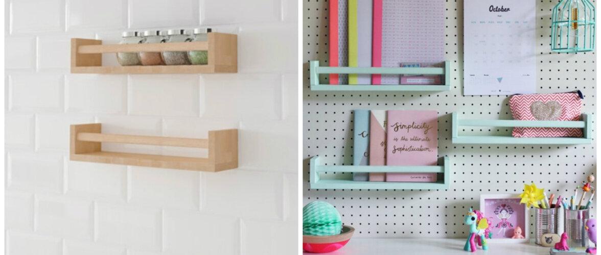 TEE ISE: IKEA riiuli põnev muutumine igavast multifunktsionaalseks