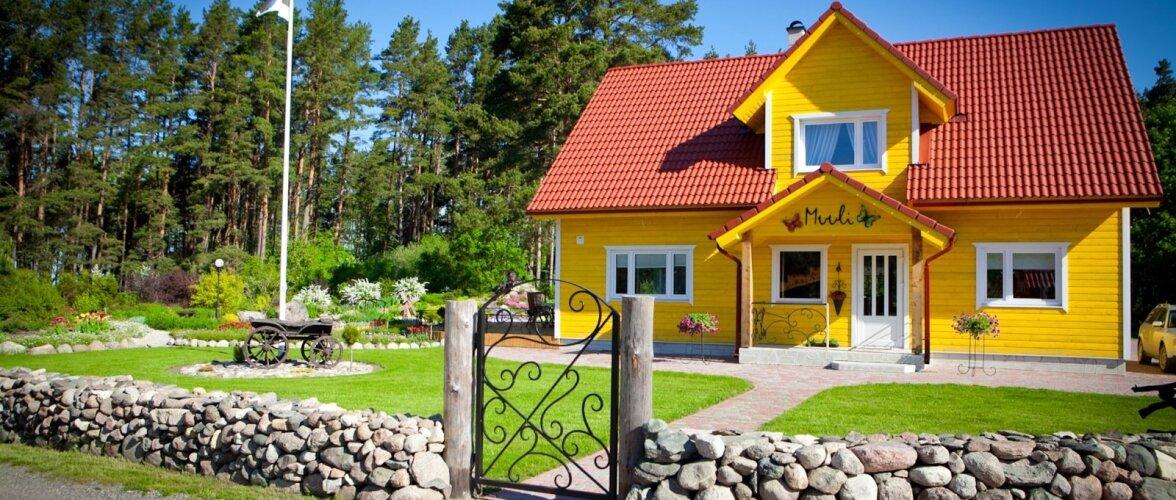 Päike keset küla — kodu, kus tõeliselt armastatakse värve