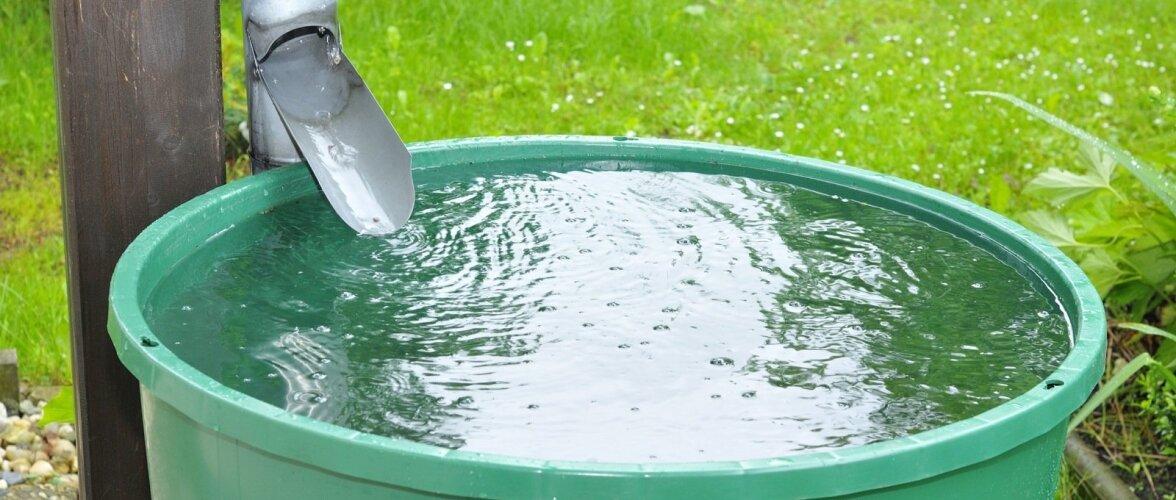 Lihtsaim võimalus vett koguda.
