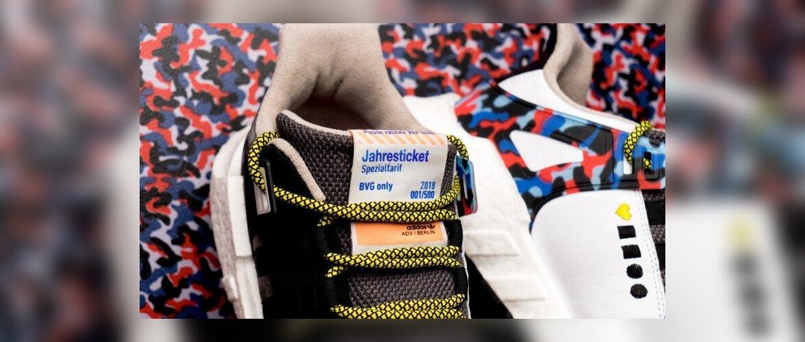 В Берлине выпустили кроссовки, которые выполняют функцию проездного билета
