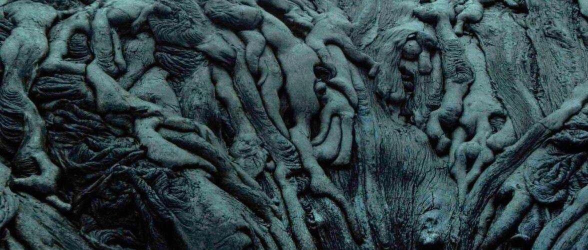 """""""Адская"""" скульптура, созданная вулканом"""