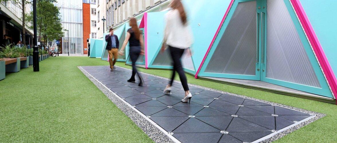 Tulevikulinnades toodetakse elektrit jalakäijate sammudega