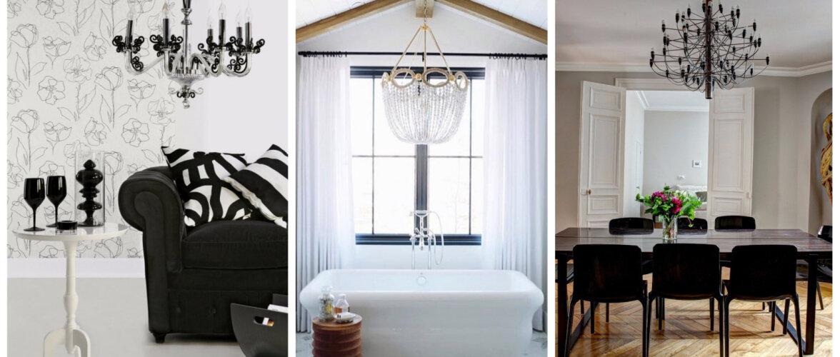 FOTOD   Lühter kaunistab igat ruumi köögist vannitoani
