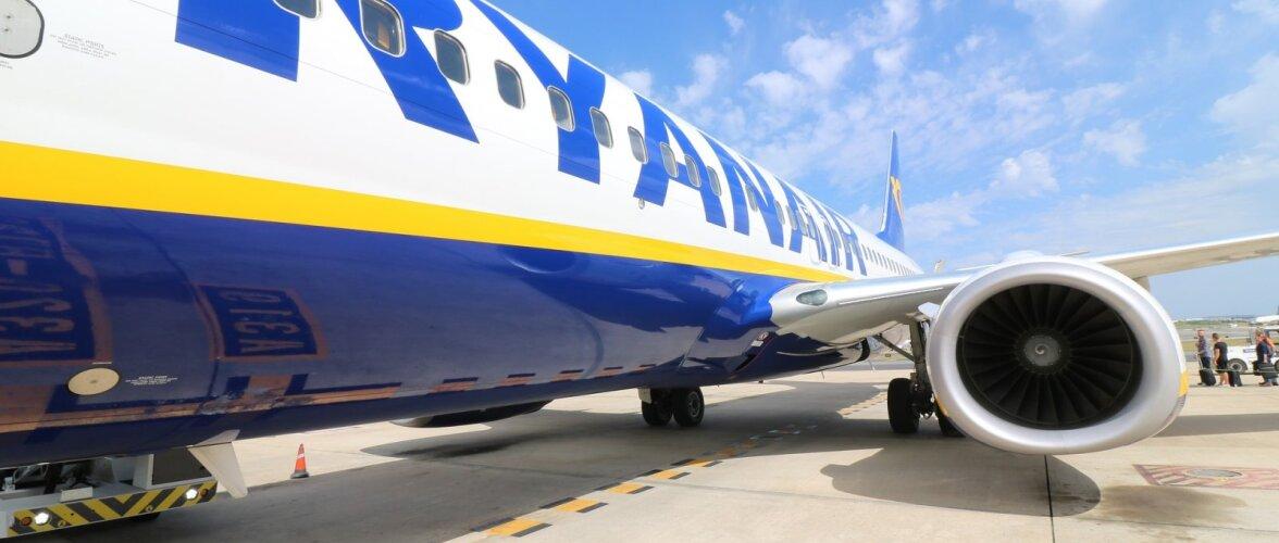 Homme toimub Ryanairi pilootide streik, tühistatud on 150 lendu. Reisijaid hoiti teadmatuses