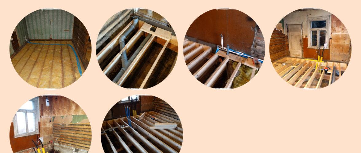 AJAVEEB | Põrandate lammutamise finišijoon paistab
