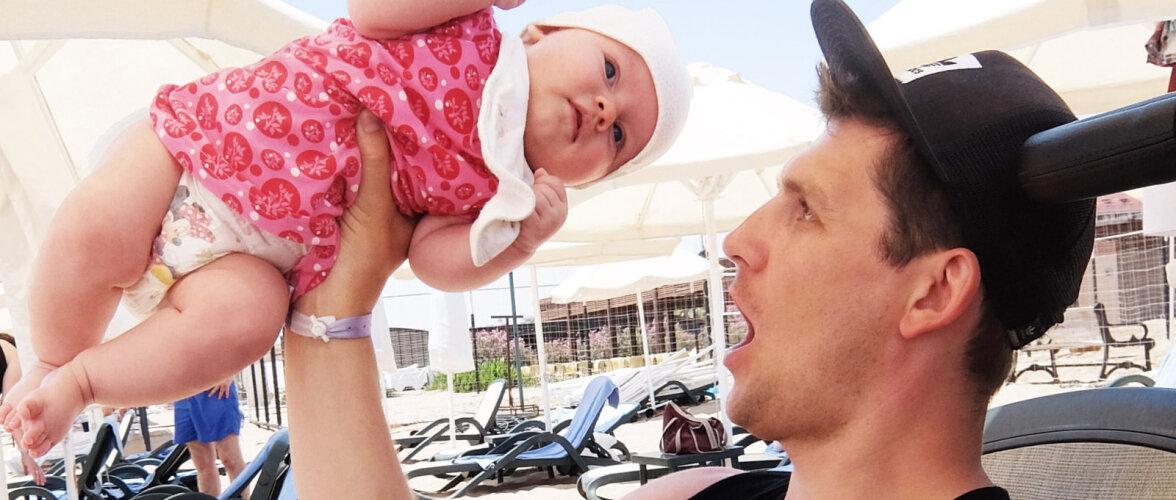 Kas vaevu kolmekuuse beebiga reisile minna on hullus?