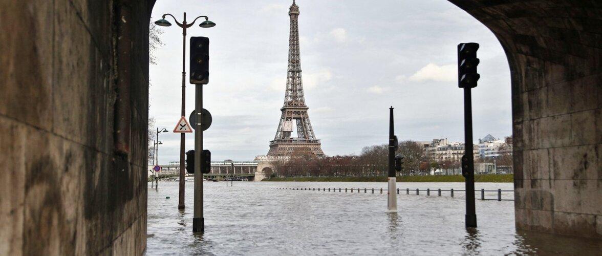 Париж рискует превратиться в Венецию