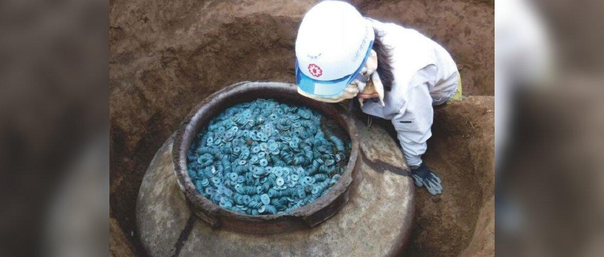 В Японии найден крупнейший денежный клад