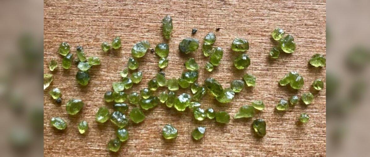 На Гавайях идет дождь из зеленых драгоценных камней