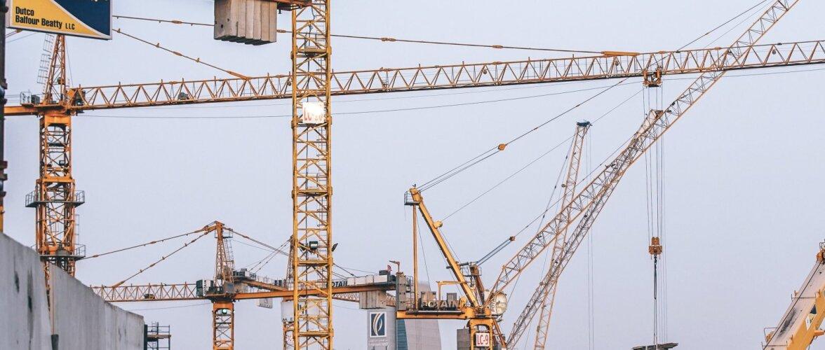 Ehitussektori häid tulemusi varjutavad mitmed kasvavad murekohad