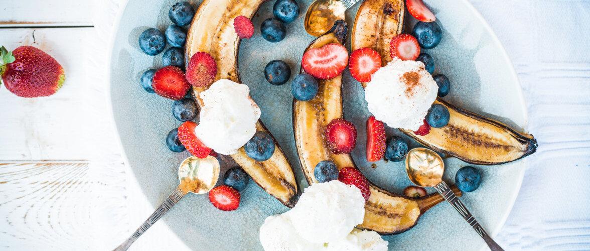 SUVEPEO RETSEPT: maailma lihtsaim magustoit – grillitud banaan