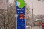Kütusehinnad Viljandis 17.01.2017