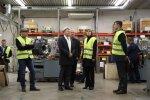 FOTOD: President Kaljulaid külastas Järvamaa visiidil Väätsa kooli ja Koeru mootoritehast