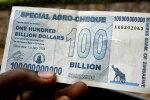 Zimbabwes valitseb USA dollaritest põud. Riik trükkis zombiraha