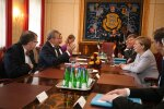 DELFI FOTOD: Angela Merkel kohtub Kadriorus president Ilvesega