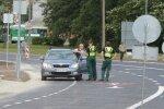 FOTOD: Paldiski maantee ja Järveotsa tee ristmikul avati betoonkattega teelõik