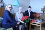 Lasnamäe sai juurde ühe 100-aastase elaniku: üritan olla võimalikult aktiivne