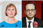 Kersti Kaljulaid ja François Hollande