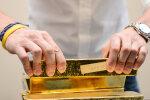 Hirm finantskriisi saabumise ees lõi kulla särama