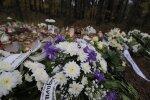 FOTOD: Ärasaatmise päeval toodi hukkunud Viimsi koolipoisile pärgi ka õnnetuskohta