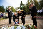 Juminda miinilahingu ohvrite mälestustseremoonia