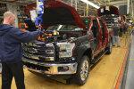 Ford F150 tootmine USAs Dearborni tehases.