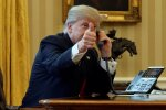 Donald Trump ei soovinud õnne telefonitsi, vaid saatis Eestile tervituse kirja teel.