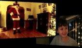 VIDEO: Poisi reaktsioon, kui ta näeb, et jõuluvana tuleb tema koju