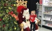VIDEO | Kaheaastane tüdruk teab, mida jõuluvanalt üle kõige soovida - uinakut!