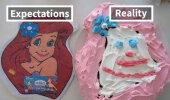 FOTOD: Ootused versus reaalsus! Kõige hullemad tordifeilid, mida su silmad kunagi näinud on