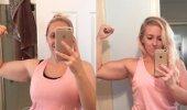 Hämmastav FOTO: Enne ja pärast! Kas usud, et see naine kaotas oma kaalust vaid ühe kilogrammi?