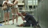 Silmiavav VIDEO: Ole ettevaatlik, keda sa tänaval aitad