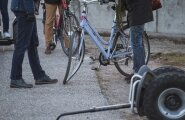ФОТО DELFI: Экскурсия фракции реформистов по Тарту закончилась ДТП
