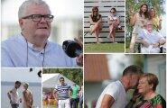 DELFI FOTOD: Sisepingetes vaevlev Keskerakond peab suvepäevi, kohal peatselt kohtulahinguid pidama hakkav Savisaar ja partei tipud