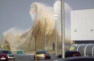 Синоптик: норвежский ураган Оле достигнет Эстонии уже этой ночью