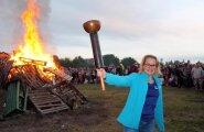 В Ласнамяэ состоялось масштабное празднование Иванова дня