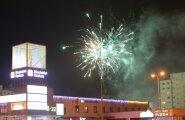 """ФОТО DELFI: Жители Ласнамяэ по традиции начали встречу Нового года """"по Москве"""""""