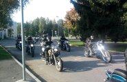 FOTOD: Meeleolukas motohooaja lõpetamine Pärnus