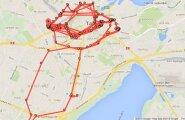 Vaata, kus Sa käinud oled! Google Maps on jälginud igat Su sammu ning selle tõestuseks on olemas internetilehekülg