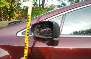 Tartus sõitis jõmm autopeeglid maha
