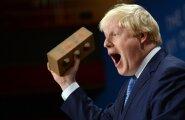 Boris Johnson ei vali valijate veenmiseks vahendeid.