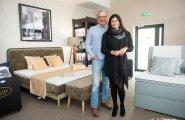 Viljandi fänn, Deluxi juht Göran Sjöholm ja tema eestlannast abikaasa Jaanika on Viljandiga väga rahul.