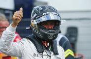 Rosberg võitis kvalifikatsiooni Hamiltoni ees ühe kümnendikuga