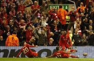 Liverpool suutis kaotusseisu ümber pöörata ja Euroopa liiga finaali pääseda
