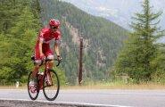 Rein Taaramäe rügab Austria mägedes, et olla Rio de Janeiros õnne soosik ja Vueltal parimas vormis.