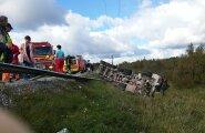 Liiklusõnnetus Hagudis, Tallinna-Rapla maantee 39. kilomeetril