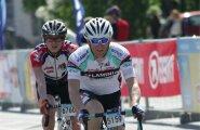 Erik Saar kandis pühapäevasel Tartu rattarallil numbrit 5159 ja jõudis üle 2000 osaleja seas pea esiveerandisse.
